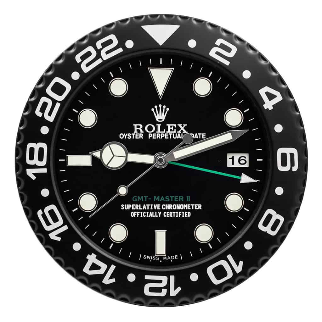 ROLEX WALL CLOCK , GMT Master II RL10 ** FREE SHIPPING **
