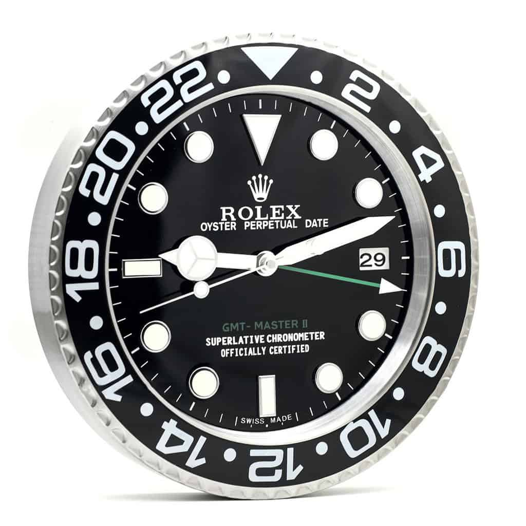 ROLEX WALL CLOCK , GMT Master II RL09 ** FREE SHIPPING **