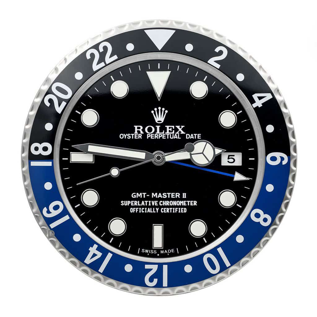 Purchase A Rolex Wall Clock Submariner Daytona Etc