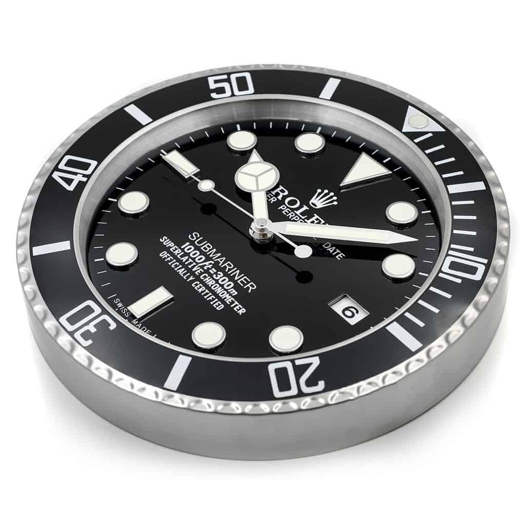Rolex Wall Clock Submariner Style Free Shipping