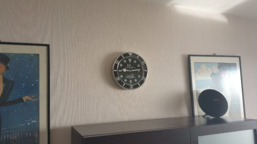SUBMARINER WALL CLOCK RL01 *FREE SHIPPING* photo review