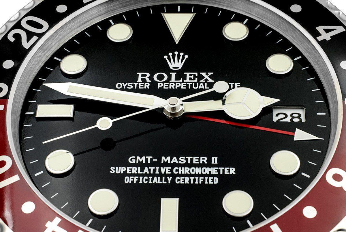 ROLEX WALL CLOCK , GMT MASTER II STYLE RL12