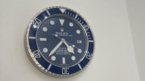 SUBMARINER BLUE WALL CLOCK RL05 ||  **FREE SHIPPING** photo review