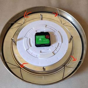 , REASSEMBLE YOUR WALL CLOCK